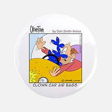 """Clown car air bags 3.5"""" Button"""