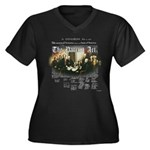 Patriot Act Women's Plus Size V-Neck Dark T-Shirt