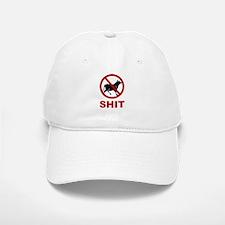 No Bullshit Allowed Baseball Baseball Cap