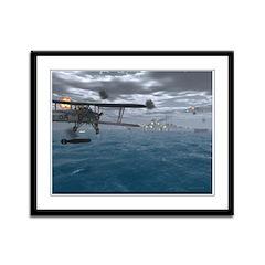 Fairey Swordfish Framed Panel Print