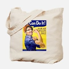 Sarah Palin We Can Do It Tote Bag