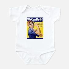 Sarah Palin We Can Do It Infant Bodysuit