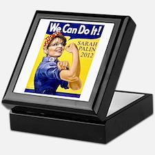 Sarah Palin We Can Do It Keepsake Box