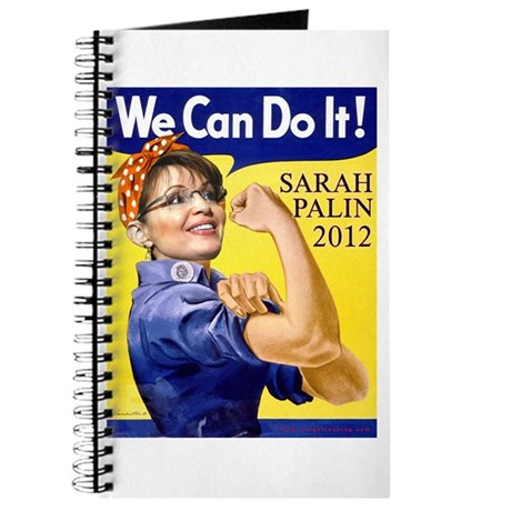 sarah palin we can do it journal by rightleaning. Black Bedroom Furniture Sets. Home Design Ideas