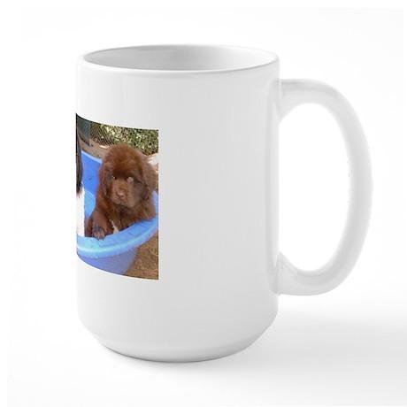 pupsinpoolgood2comp Mugs