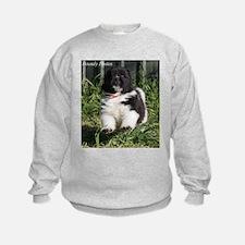 Unique Black newfie Sweatshirt
