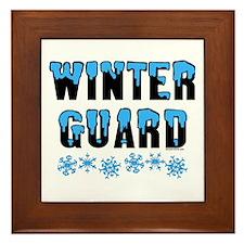 Winter Guard Framed Tile