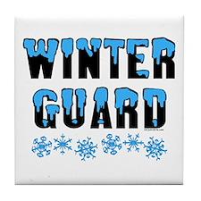 Winter Guard Tile Coaster