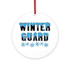 Winter Guard Ornament (Round)