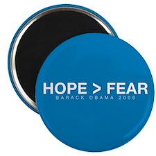 """Hope Over Fear"" Magnet"