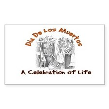 A Celebration of Life Rectangle Decal