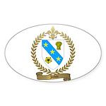 JOBIN Family Oval Sticker