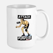 Wrestle Attack Mug