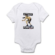 Wrestle Attack Infant Bodysuit
