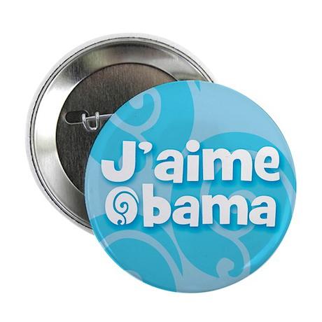 J'aime Obama (French) I love Obama (100 pack)