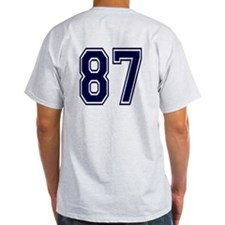 NUMBER 87 BACK T-Shirt