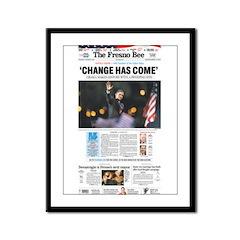 2008 Elections Framed Panel Print