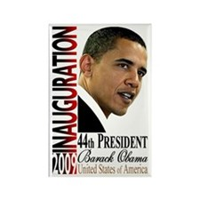 Obama Inauguration Rectangle Magnet
