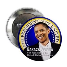 "Barack is 44 2.25"" Button"
