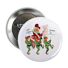 "Santa Unfair: Elves on Strike 2.25"" Button"