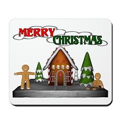 Gingerbread Christmas Mousepad