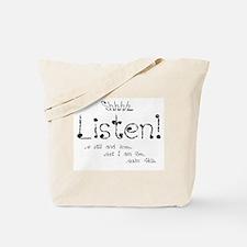 Shhhh Tote Bag