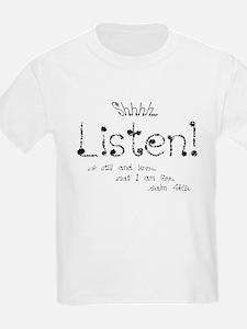 Shhhh Kids T-Shirt