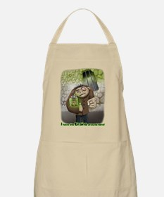 I have the Brains BBQ Apron