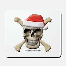 Santa Skull Mousepad