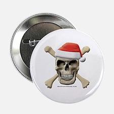 """Santa Skull 2.25"""" Button (100 pack)"""