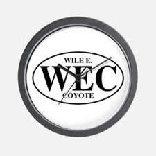 Wile E Coyote Wall Clock