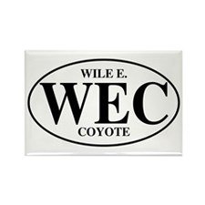 Wile E Coyote Rectangle Magnet