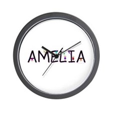 Amelia (Girl) Wall Clock