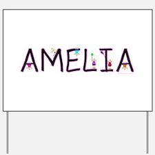 Amelia (Girl) Yard Sign