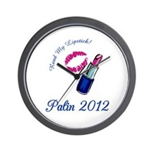 Sarah Palin 2012 Wall Clock