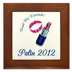 Sarah Palin 2012 Framed Tile