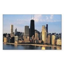 Chicago from Lake Shore Drive Rectangle Decal