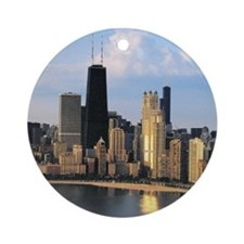 Chicago from Lake Shore Drive Ornament (Round)