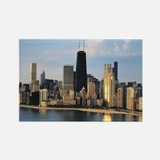 Chicago from Lake Shore Drive Rectangle Magnet