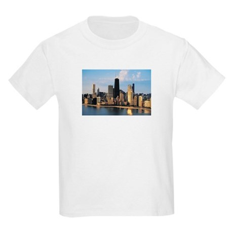 Chicago from Lake Shore Drive Kids Light T-Shirt