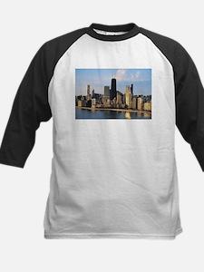 Chicago from Lake Shore Drive Kids Baseball Jersey