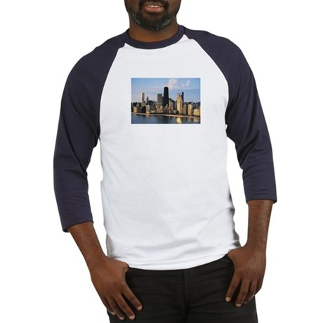 Chicago from Lake Shore Drive Baseball Jersey