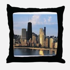 Chicago from Lake Shore Drive Throw Pillow