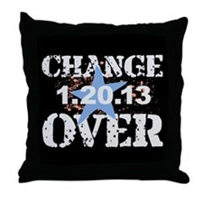 Obama's Last Day Throw Pillow