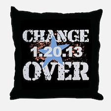 Obama's Last Day Throw Pillow