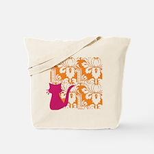 Mod Kitty Silo Tote Bag