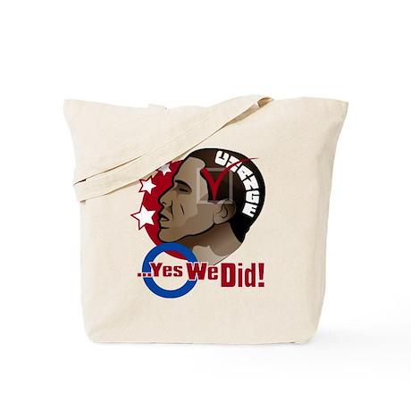 O...Yes We Did! Tote Bag