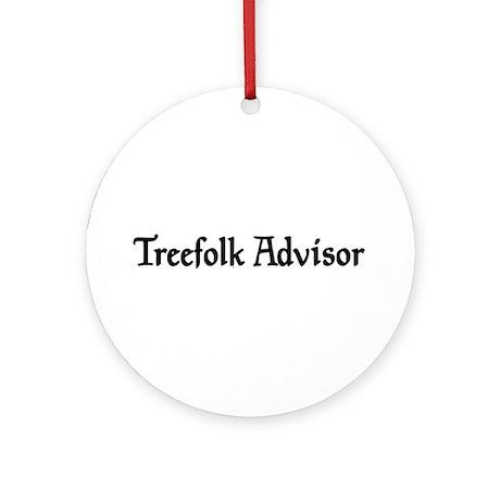 Treefolk Advisor Ornament (Round)