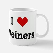 I Love Weiners Mug