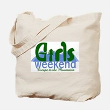 Mountain Girls Weekend Tote Bag